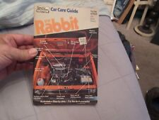 VW Rabbit Car Care Guide ( Gas & Diesel Also Dasher & Scirocco )