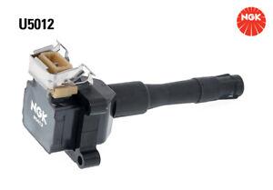 NGK Ignition Coil U5012 fits BMW 5 Series 520 i 24V (E34) 110kw, 525 i (E34) ...