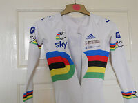 NEW TEAM GB UCI world champion stripes cycling bike skinsuit rider issue  SKY