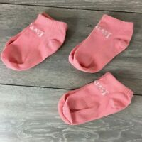 3 Pairs Kids Low Socks UK C8 - C13 Kids Junior Pink Sport A121-18