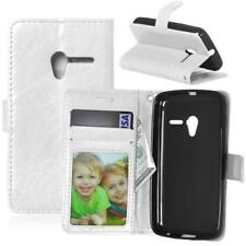 New Card Holder PU Leather Wallet Book Flip Case Cover For Various Alcatel Phone