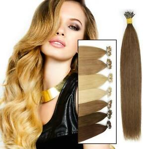1g 7A Nano Ring tip Elegant Seamlees Easy Remy Human Hair Extensions Elegant