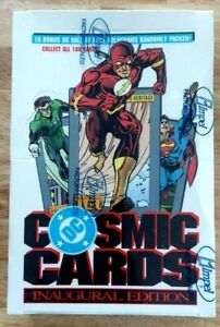 Cosmic Cards Super Heroes Factory Sealed 36 Pack Box Impel DC Superman Flash