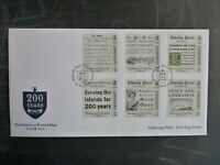 2013 GUERNSEY 200yrs OF THE PRESS & THE STAR NEWS SET 6 STAMPS FIRST DAY COVER