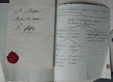 RAULIN. Notes généalogiques sur la Famille Raulin. Ecrit main au XIXème siècle.