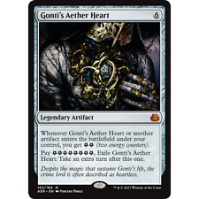 2x MTG Gonti's Aether Heart NM - Aether Revolt