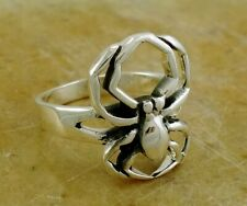 UNIQUE .925 STERLING SILVER SPIDER RING size 7  style# r2058