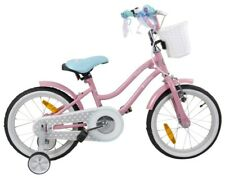 "BMX bike 16 "" KIDS Pink with turquoise seat HIGH QUALITY !!"