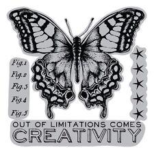 Sizzix Framelits Dies 4/Pkg W/Stamps By Tim Holtz -Limitations