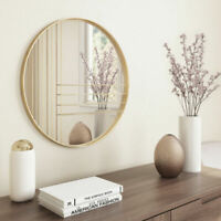 Wall Mirror Accent Decor Bedroom Bathroom Vanity Hall Modern Contemporary Gold