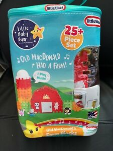 Little Tikes MacDonald's Farm Blocks for 2 Year and Above - Multi
