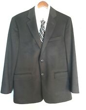 "Brooks Brothers  "" 346 "" Black 100% CASHMERE Sport Coat Jacket Blazer 40 R EUC!"