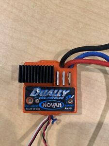 NOVAK DUALLY ELECTRONIC SPEED CONTROLLER ESC DUAL PROFILE BRUSHED 1:10
