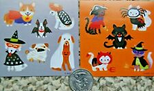 AGC Halloween stickers dogs cats costumes funny puppy kitten devil spider mummy