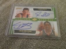 JASON SMITH LOUIS WILLIAMS 2008-09 Upper Deck MVP SIGNATURES REQUIRED DUAL AUTO