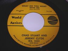 Chad Stuart And Jeremy Clyde: What Do You Want With Me / A Very Good Year 45