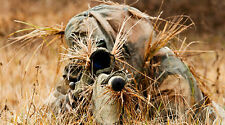 "SNIPER GHILLIE SUIT SNIPER RIFLE 24"" x 43""  LARGE WALL POSTER PRINT"