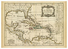 Gulf of Mexico Carribean Cuba Jamaica Antilles map Lattre Delamarche ca.1800