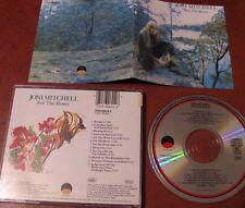 JONI MITCHELL For the roses - CD- Asylum-Germany-12 tracce- testi