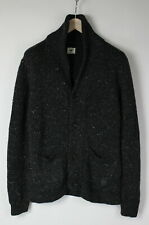 LEE CU L685OF Men's SMALL Wool Blend Knitted Shawl Cardigan / Sweater 29118_JS