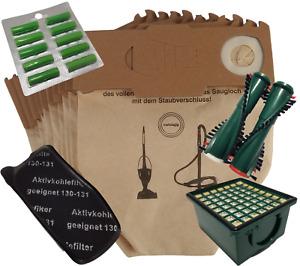 Staubsaugerbeutel Filtertüten Beutel Papier geeignet Vorwerk Kobold VK 130 131