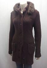 Grobe Damen-Pullover & -Strickware aus Wollmischung mit Knöpfen