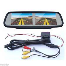 4.3 Inch Dual Screen Car Rear View Monitor Rear View Mirror 4ch Av-in