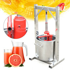 12 Liter Saftpresse Obstpresse Entsafter Presse Fruit Press Crusher DE