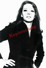 ORIG. photo portrait diana rigg studio Munich AVENGERS Emma peel James Bond 1969!