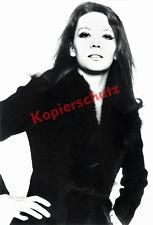 ORIG. foto ritratto Diana Rigg studio Monaco Avengers Emma Peel James Bond 1969!