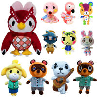 Animal Crossing Celeste Tom Nook Chrissy Bunnie Flora Tasha Plush Toy Doll Gifts