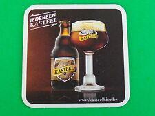 Beer Breweriana Coaster: Brouwerij Van Honsebrouck KASTEEL Donker Bier ~ BELGIUM