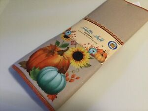 DRYING MAT MICROFIBER  HELLO FALL  ABSORBENT REUSABLE MACHINE WASHABLE