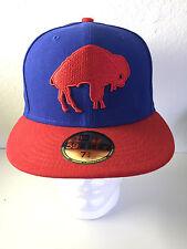 BUFFALO BILLS New Era 59fifty NFL Team Headwear 7-1/4 Fitted Hat Cap NWT