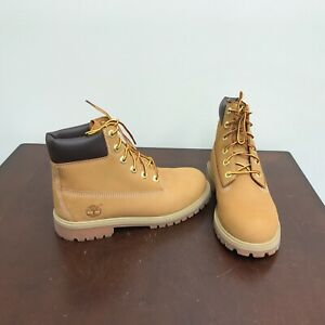 """Kid's Timberland 6"""" Premium Waterproof Casual Boots. Size 6."""