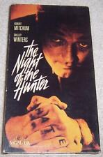 The Night of the Hunter Vhs Video Robert Mitchum Shelley Winters