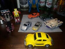 Vintage transformers lot 8 bandai and takara brand..played condition