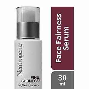 Neutrogena Fine Fairness Brightening Serum, 30ml -For Women -Lotion Oil-free