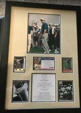 PSA/DNA Masters JACK NICKLAUS Signed Autographed FRAMED Large masterpiece