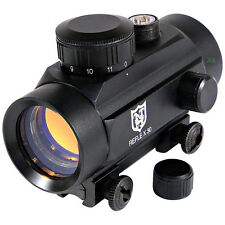 Nikko Stirling 30mm RED DOT POINT SIGHT 11mm Mount Air Rifle Pistol Airgun 3/8""