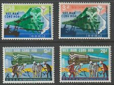 Vietnam 1968 #339-42 Reopening of Trans-Vietnam Railroad - MNH