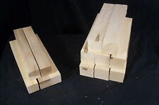 13 Pc Basswood Practice Stick Paint Grade 1 1/2&2 sq x 11 Carving Lumber