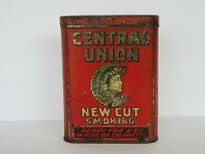 Vintage Central Union Tobacco Tin
