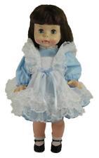 Blue Pinafore Dress for Suzie Sunshine Doll