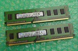 8GB Kit (2 x 4GB) Samsung HP 698650-154 PC3-12800U DDR3 Non-ECC Desktop Memory