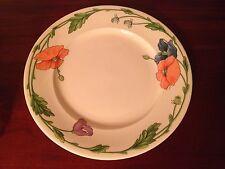"Villeroy & Boch 1748 'Amapola' 12.5"" Round Platter Chop Cake Plate Tray - EC"