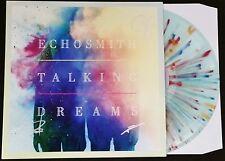 ECHOSMITH BAND SIGNED TALKING DREAMS SPLATTER VINYL  LP ALBUM W/COA   AUTOGRAPH