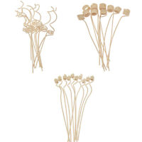 2X Rattan Reed Diffuser Refill Stick Flower Wheatear Fragrance Replacement Decor