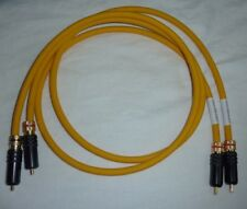 VAN DEN HUL M.C.D102 MKIII HYBRID 50 CM RCA INTERCONNECTS (X 2) LOCK-TIGHT-SCREW