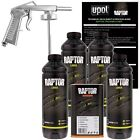 U-POL RAPTOR? UP0820 Black Truck Bed Liner Kit + 1 Spray Gun